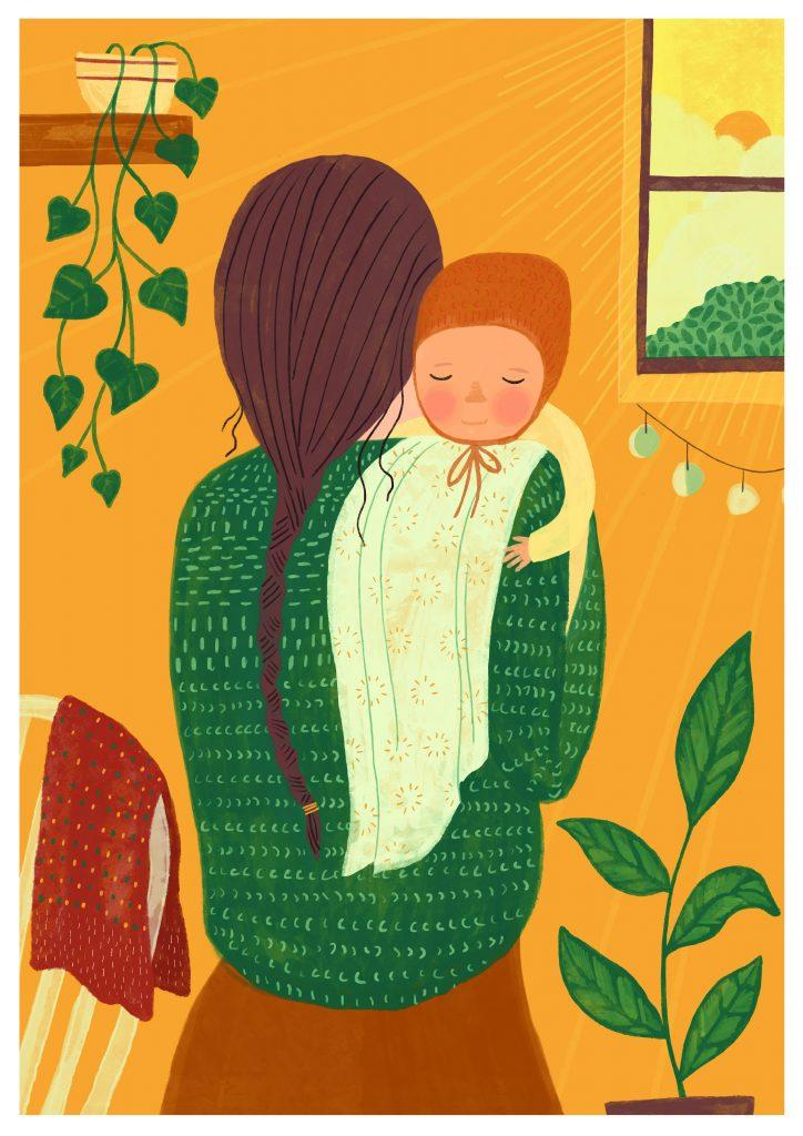 Sara Thielker, Mummy Brown